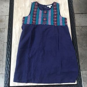Garnett hill kids linen dress